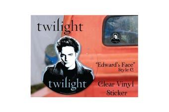 Twilight Sticker Clear Vinyl Style C (Edward)