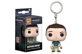 Uncharted Nathan Drake Pocket Pop! Keychain