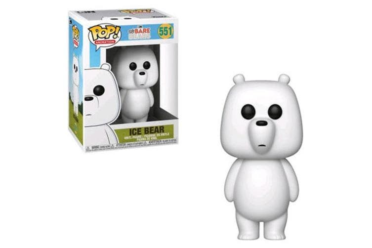 We Bare Bears Ice Bear Pop! Vinyl