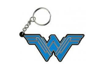 Wonder Woman Movie Logo PVC Keychain