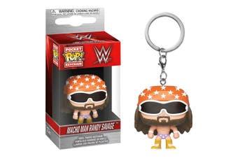 WWE Randy Savage Pocket Pop! Keychain
