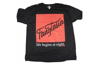 True Blood Fangtasia Black Male T-Shirt