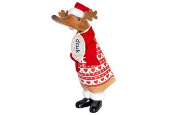 DCUK Santa Duckling Red Reindeer Knit Jumper