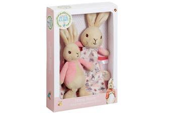 Beatrix Potter Flopsy Rattle & Comfort Blanket Gift Set