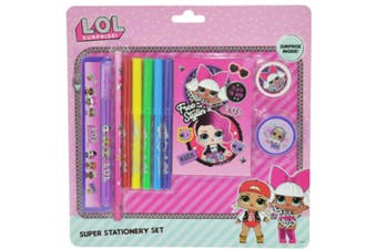 LoL Surprise Born to Rock Super Stationery Set