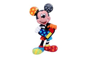 Disney by Britto Mini Figurine - Mickey Heart