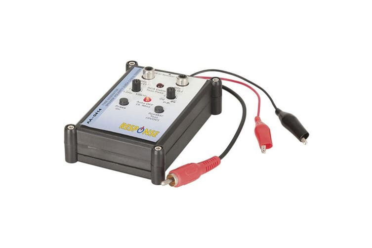 TechBrands Audio Speaker Polarity Tester with Tone Controller/Generator