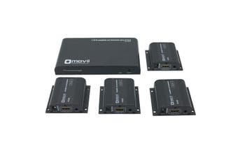 TechBrands Movii HDMI Cat6 1x4 Extender Repeater