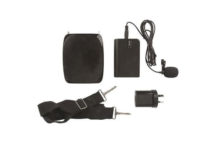 Digitech Wireless UHF Clip Lapel Microphone Receiver & Speaker System