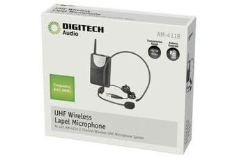 Digitech Channel-B UHF Headset Mic & Transmitter (suit AM4132 AM4114)