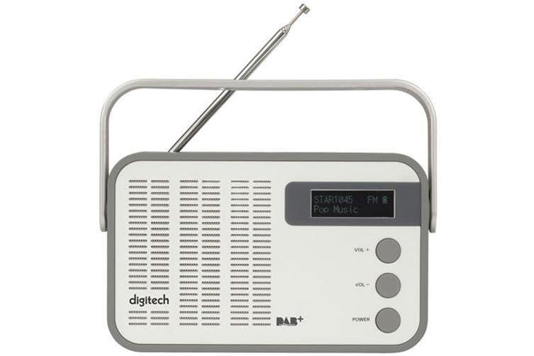Digitech Portable DAB+ and FM Radio w/ USB Micro SD card & Bluetooth