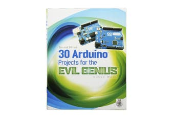 TechBrands 30 Arduino Projects for Evil the Genius Book by Simon Monk