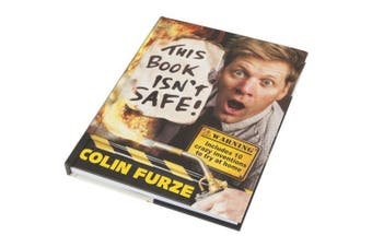 TechBrands This Book Isn't Safe Book by Colin Furze