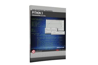 TechBrands Python 3 Programming & GUI 2nd Edition Book by Andrew Pratt