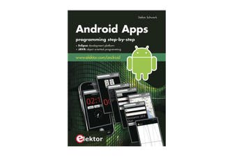 TechBrands Android Apps Programming Step-by-Step Book By Stefan Schwark