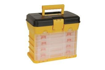 TechBrands Storage Box Organiser (13 Compartments x4 w/ Case)