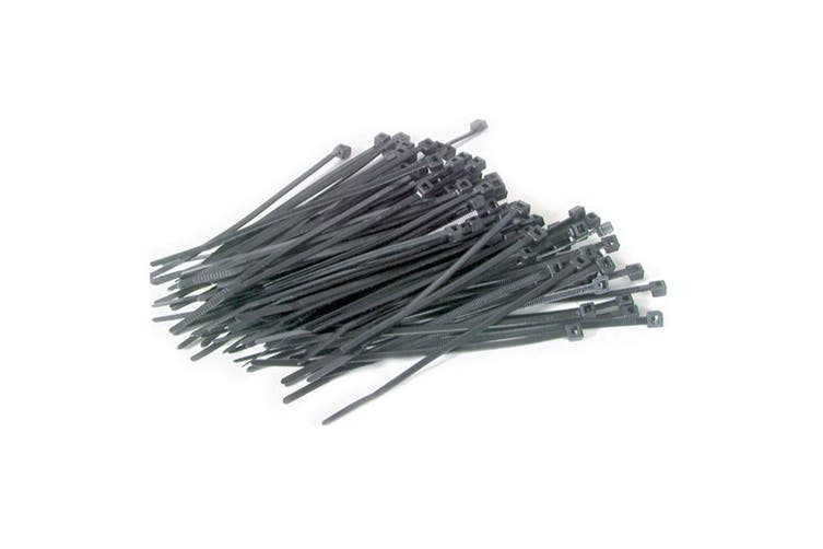 TechBrands 300x4.8mm Cable Tie Black (500 Pieces Pack)