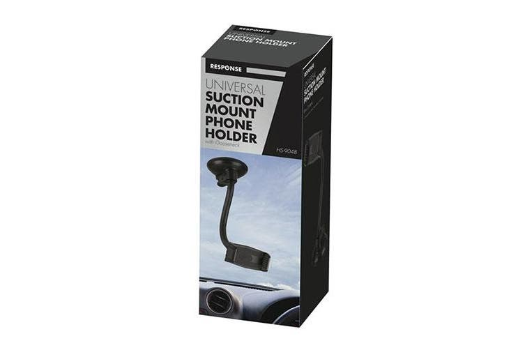 TechBrands Gooseneck Suction Cup Mount Phone Holder Windshield/Dash