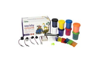 TechBrands Squishy Circuits Conductive Insulating Kit (Deluxe)