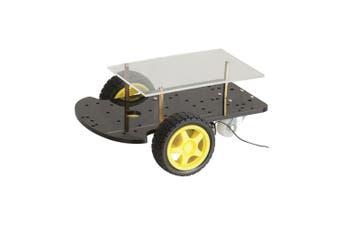 TechBrands 2 Wheel Drive Motor Chassis Robotics Programmable Kit