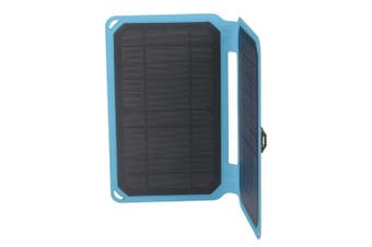 TechBrands 10W Solar Mobile Charger with USB Output and 1m Cable
