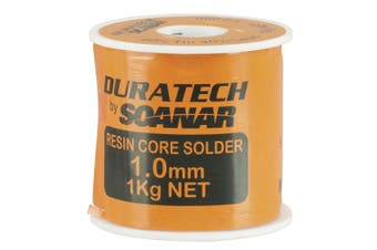 Duratech 1mm DuraTech Solder Wire Roll (1kg)