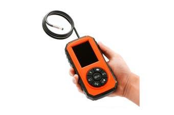 "TechBrands Inspection Endoscope Cam w/ 3"" Record & LED Illum Screen"