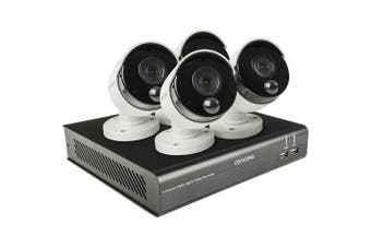 Concord 4 Channel CCTV HD DVR Package (4x1080p Bullet Cameras)