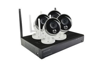 Concord 4 Channel Wireless NVR Package 4x1080p Surv Camera System