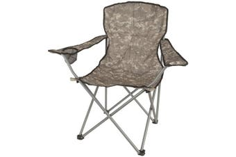 TechBrands Folding Camo Camping Chair