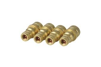 TechBrands Adjustable Brass Tyre Deflator (6 to 30PSI 4 Pack)