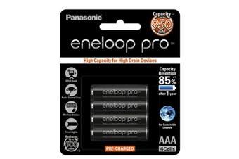 Panasonic Panasonic Eneloop Pro AA Battery 4pk (Ni-MH 1.2V 900mAH)