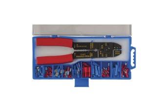 TechBrands Automotive Elect Wiring Crimp/Stripper/Cutter Tl w/ Conn Kt