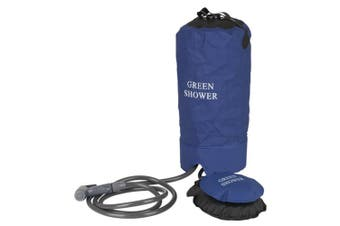 TechBrands Portable Camping Shower with Foot Pump