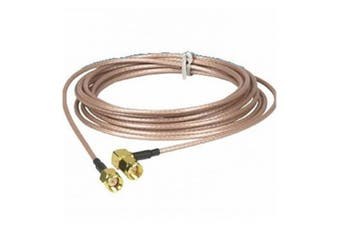 TechBrands SMA Plug to Plug Gold RG316 Coax Lead