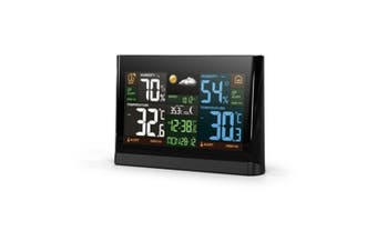 "Digitech 7"" Color Display Temperature and Humidity Weather Station"