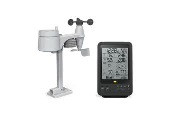 TechBrands Digital 5 in 1 Wireless Weather Station B/W Display