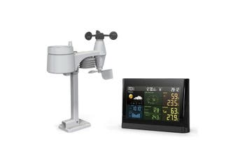 TechBrands Digital 5 in 1 Wireless Weather Station Color Display