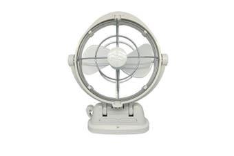 "Sirocco Sirocco Gimbal Fan 7"" 3-Speed (12-24VDC) - White"