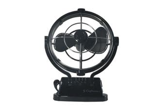 "Sirocco Sirocco Gimbal Fan 7"" 3-Speed (12-24VDC)"
