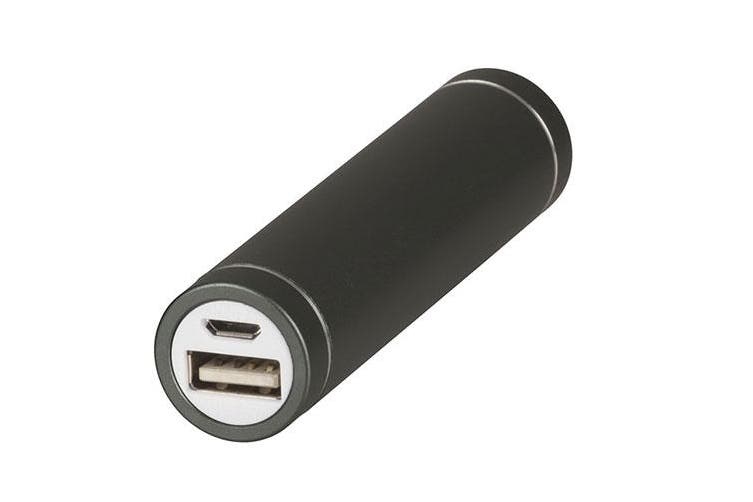 TechBrands Metallic Li-Ion Power Bank (2600mAh) - Space Grey