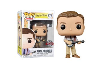 The Office Andy Bernard US Exclusive Pop! Vinyl