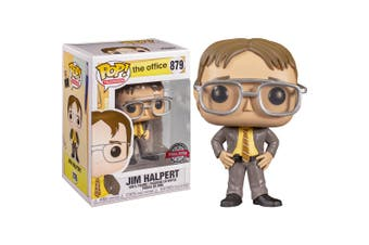 The Office Jim as Dwight Pop! Vinyl