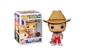 Back to the Future Marty McFly Cowboy US Excl Pop! Vinyl