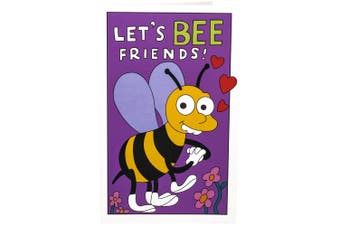 The Simpsons Let's Bee Friends Replica Valentine's Day Card