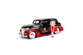 Betty Boop 1939 Checy Master Dx 1:24 Figure Hollywood Ride