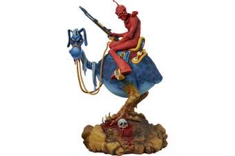 """William Stout 13.5"""" Red Rider Statue"""