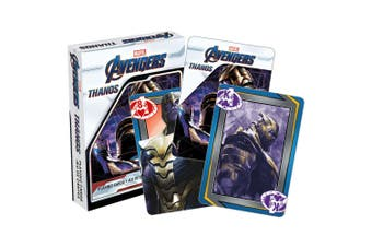 Marvel Avengers Thanos Playing Cards