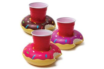 BigMouth Pool Party Beverage Boats - Donuts