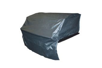 Outdoor Magic Hooded Inbuilt 6 Burner BBQ Cover (60x105cm)
